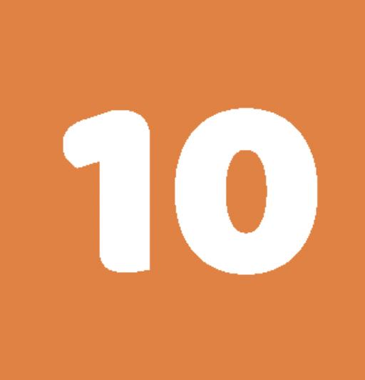 Hoge waardering 10