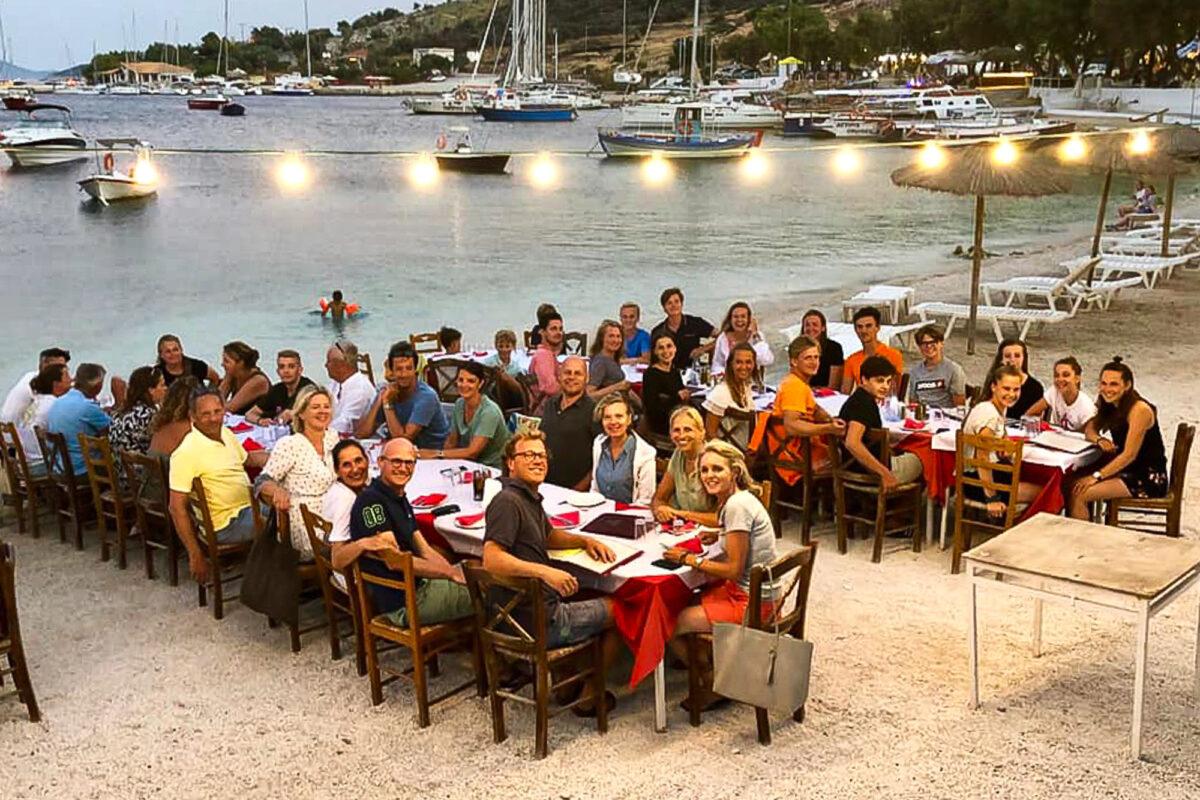 Dineren met het flottielje - gezellig!