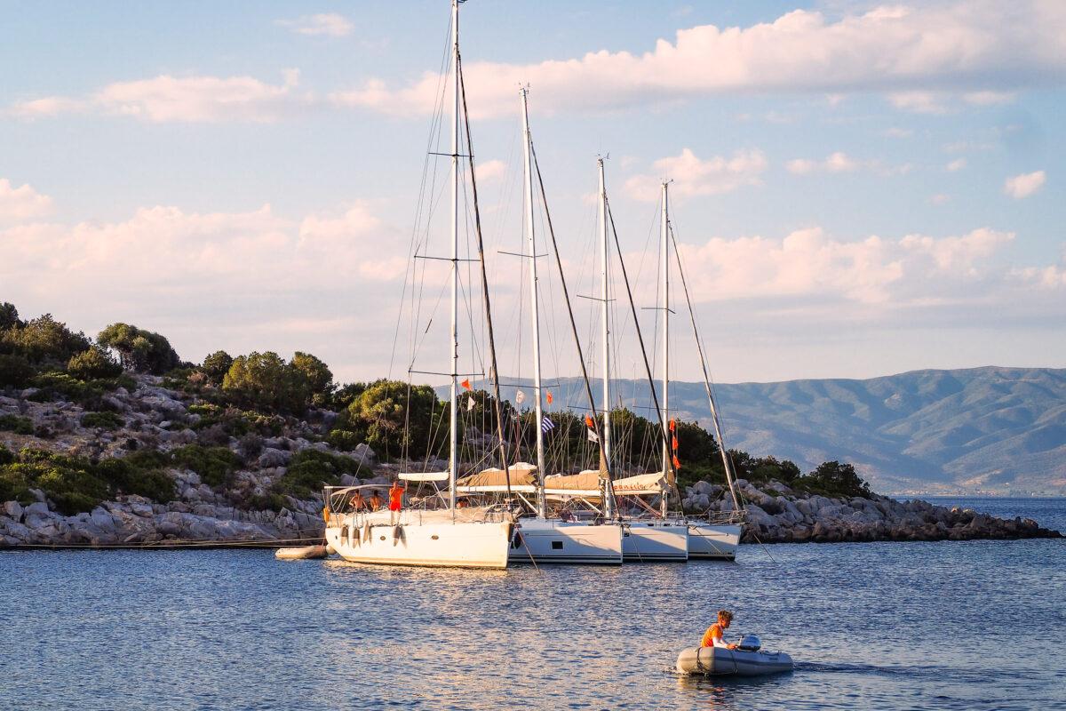 Flottielje in Griekenland