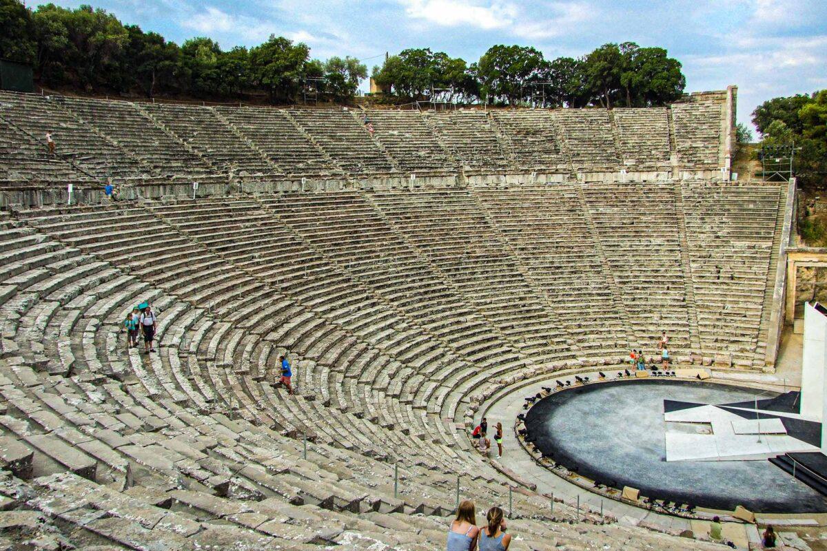 Theater Epidavros - flottielje athene
