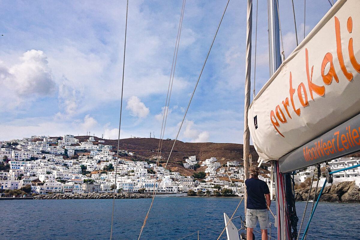 Zeilen in de Cycladen